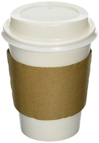 50 Paper Coffee Cup/Disposable Hot Cup 12 oz. WHITE with 50 Cappuccino Lids and 50 Sleeves Nafger sales http://www.amazon.com/dp/B00GTSQOH0/ref=cm_sw_r_pi_dp_7qqrwb06PF6HS