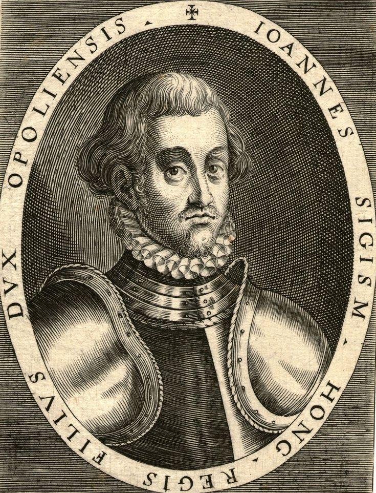 King John II of Hungary. He was the son of King John I.
