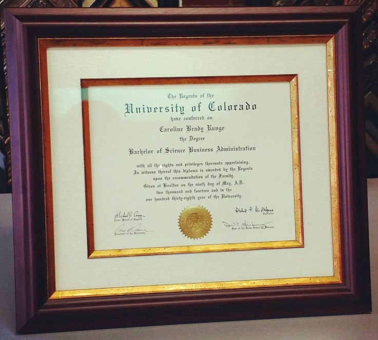 Show off your accomplishments by framing your diploma! This diploma was framed with a linen mat, two fillets, museum glass, and a mahogany frame by @larsonjuhl! Frame it right the first time, and you'll never have to do it again! Custom framed by FastFrame of LoDo! #art #framing #denver #colorado #diploma