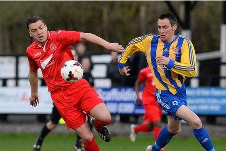 IF NOT for a bottle of wine and his persuasive charms, hotshot Craig Bannister would not be making FA Cup history with Sporting Khalsa.  Bannister will lead the line for Khalsa in the third...