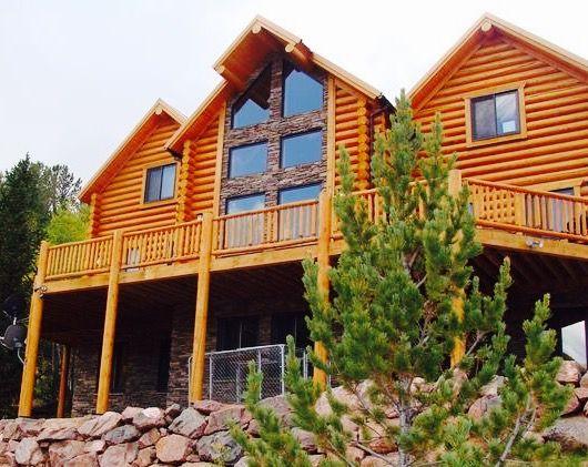 Lang Log Homes Custom Built In Colorado Springs Area