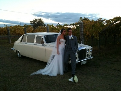 Sunset in the Vines. Perth wedding car from Absolutely Fabulous Wedding Cars... see more at http://abfabweddingcars.mirrabooka.weddingcircle.com.au