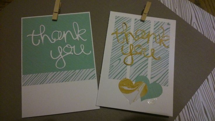 Mint Macaron envelope paper and Hello You thinlits dies with Peekaboo Peach accents