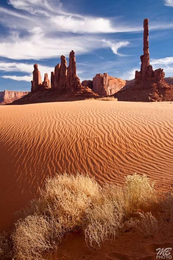 Monument Valley National Park – Utah, USA by ana -…