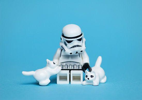 Superbes scènes de vie en Lego StarWars par Mike Stimpson (21)