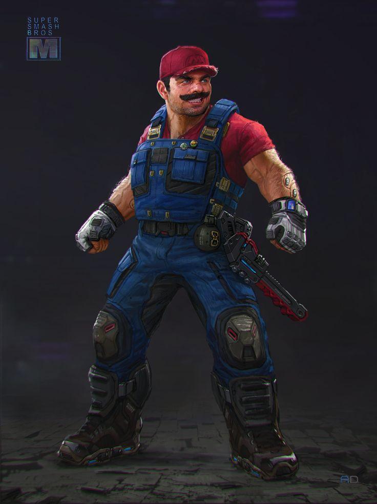 Mario by Andrew Domachowski