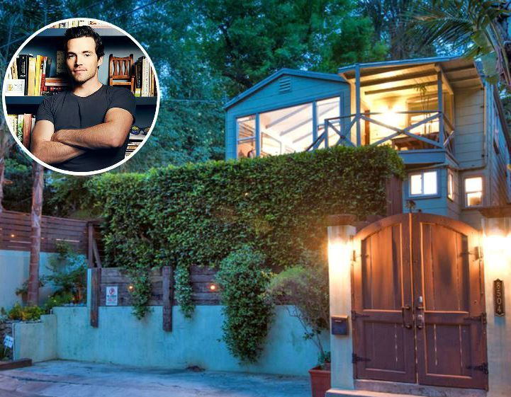 Fun before and after blog ... PLL's Ian Harding's house in Laurel Canyon