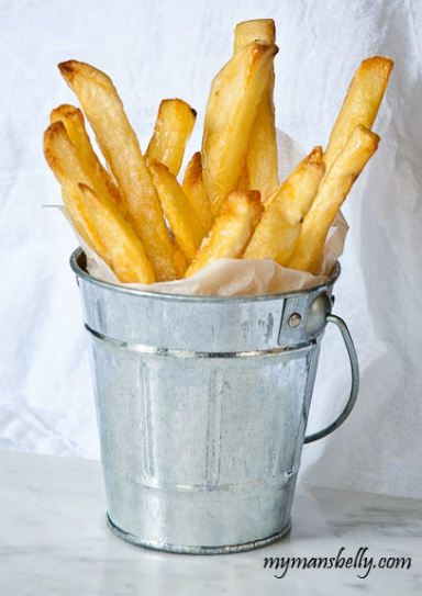 Homemade French Fries that taste just like the best diner fries.