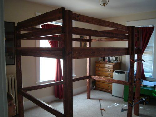 Build Your Own Loft Bunk Bed Twin Full Queen King Adult