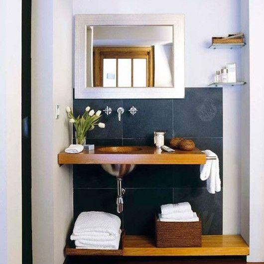 Best 25 como decorar ba os peque os ideas on pinterest for Ideas para decorar banos pequenos modernos