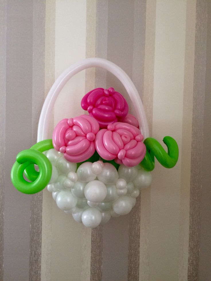 123 Best Images About Balloon Twisting Flowers On Pinterest Vase Flower Balloons And Balloon