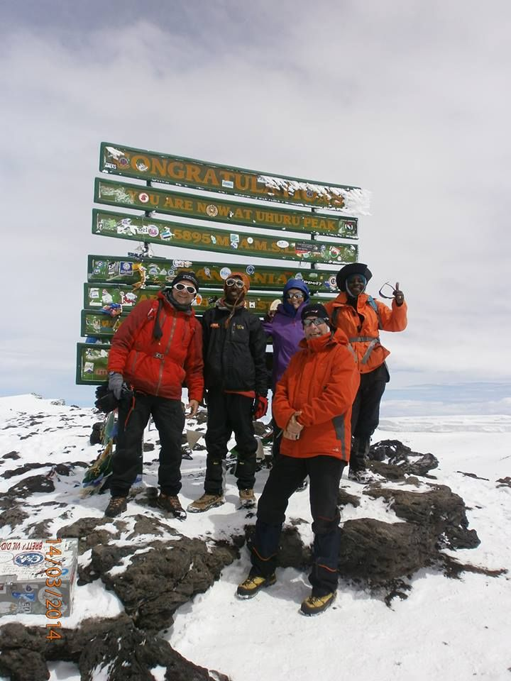 Kilimanjaro summit,photo taken by www.africantrekksafaris.co.tz