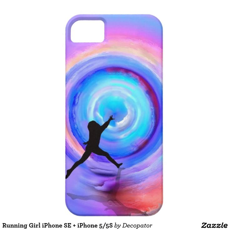 Running Girl iPhone SE + iPhone 5/5S iPhone 5 Cover