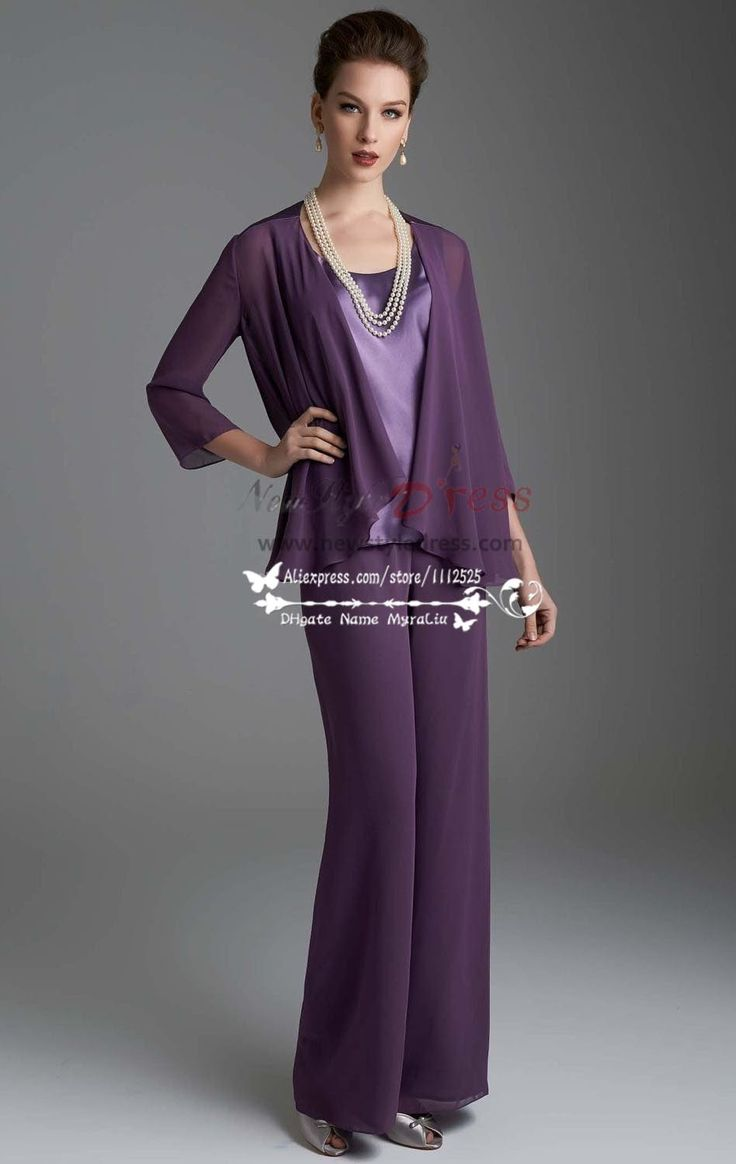 Regency Chiffon Women S Outfits Lovely With Jacket Trouser Suit For Wedding