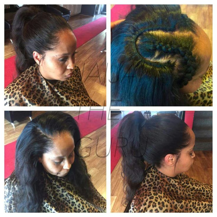 Pull Up Sew In With 2 Bundles Of Peruvian Hair All