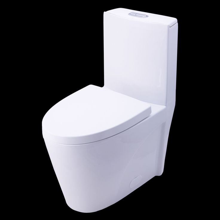 BAI 1009 Contemporary Toilet – One Piece Dual Flush Soft-Close Seat