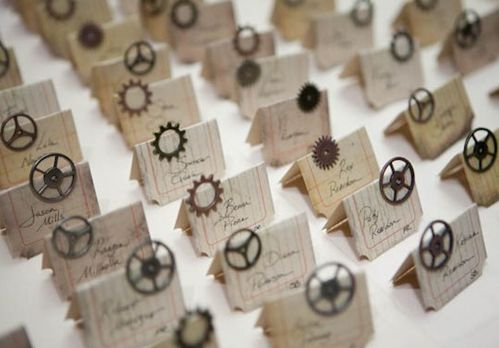 If I Got Married...: Steampunk -Centerpieces and stuff