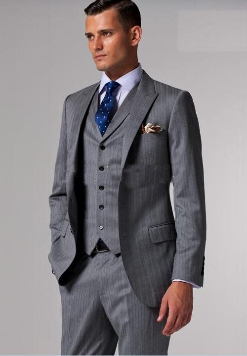 37 best images about Suits on Pinterest | Groomsmen, Gray and Wool ...
