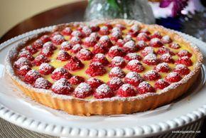 Малиновый тарт из Café du Jura в Лионе (Tarte aux Framboises)