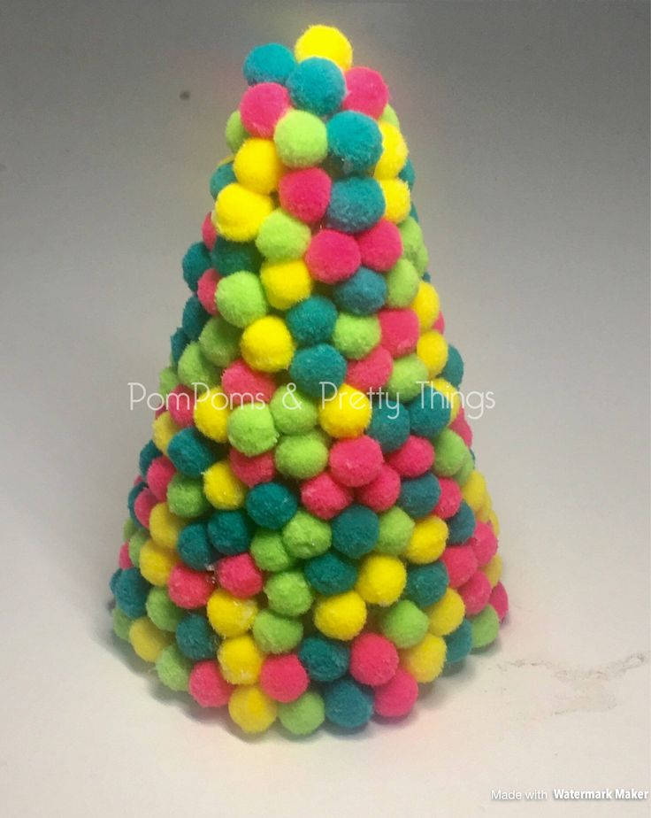 A personal favourite from my Etsy shop https://www.etsy.com/uk/listing/533575266/pompom-christmas-tree-christmas-tree