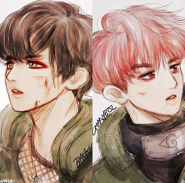 Exo fanart  Chanbaek