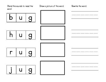 184 best Short Vowel Word Families images on Pinterest