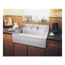Barclay Single Bowl Farmer Sink, Kohler Single Bowl Tile In Apron Front  Three Hole Enameled Cast Iron Kitchen Sink
