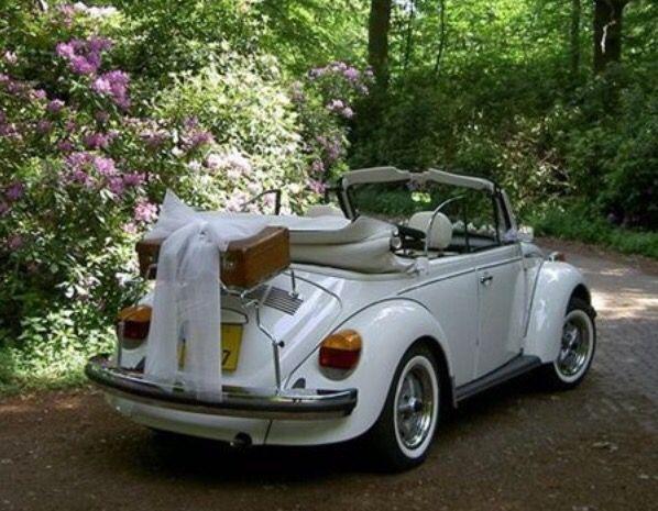 Vintage Vw beetle convertible wedding car | Boho wedding ...