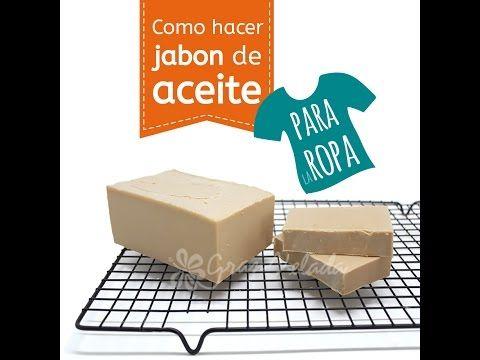 Hacer Jabón de Aceite para Ropa | Blog de Gran Velada