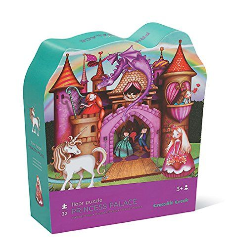 8 best 2016 gift guide images on pinterest books kid books and crocodile creek princess palace floor jigsaw puzzle 32 piece read more reviews of the product fandeluxe Gallery