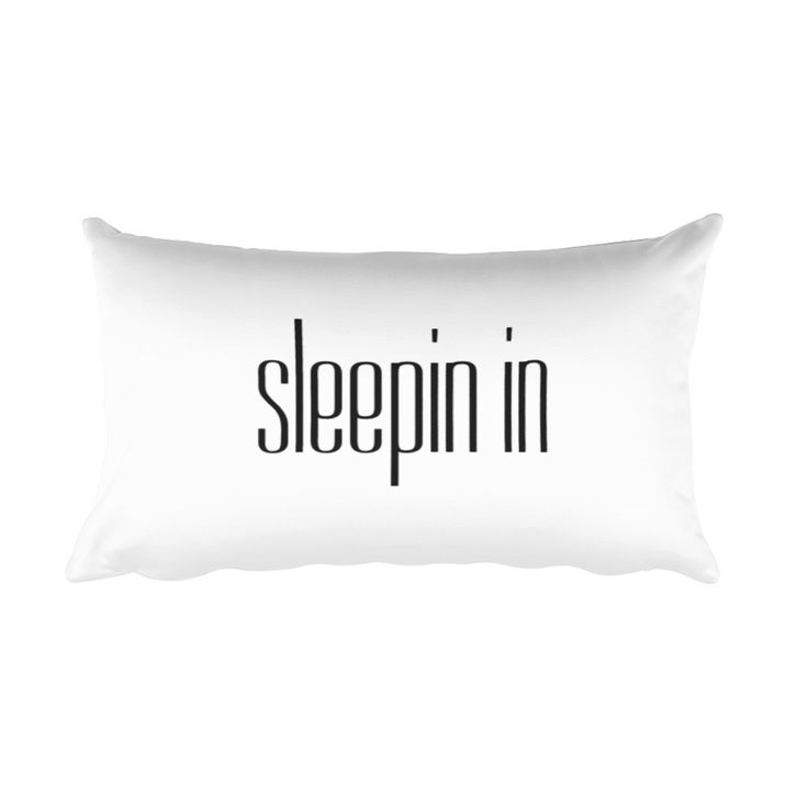 Sleepin In Fly Tots Rectangular Pillow