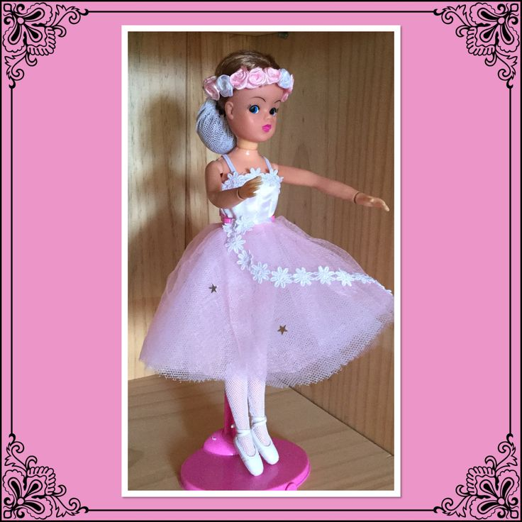 Sindy ballerina. In the romantic fashion.