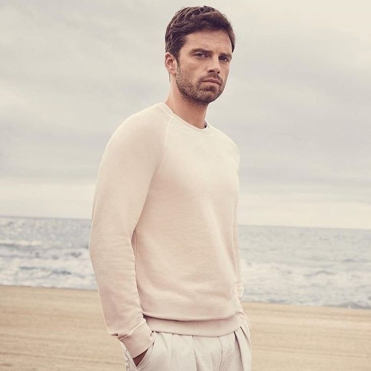 Sebastian ⭐ Stan photographed by Adam Fussel for Hugo Boss Spring/Summer 2018 Collection