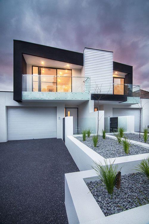 Brighton contemporary, Melbourne, AU. Sketch Building Design. Dana Beligan photo.