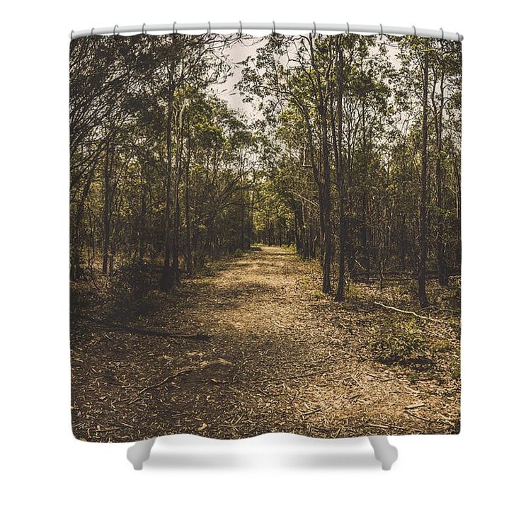 Rustic Shower Curtain featuring the photograph Outback Queensland Bush Walking Track by Jorgo Photography - Wall Art Gallery