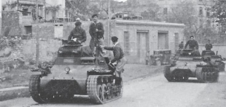 Spain - 1936-39. - GC - Nationalist Panzer I tanks