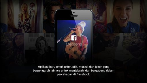 Aplikasi Facebook Mentions