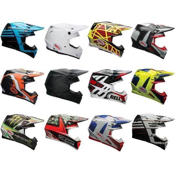 Bell Moto-9 Flex Moto Motocross Dirt Bike Off Road Helmet   All Colours & Sizes