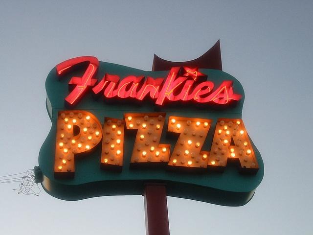 Frankie's Pizza Neon Sign, Miami