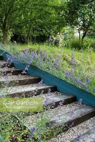 Image result for railway sleeper garden nz