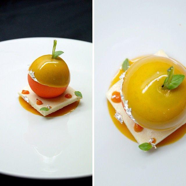 un dessert à la Mandarine par @benoit_charvet