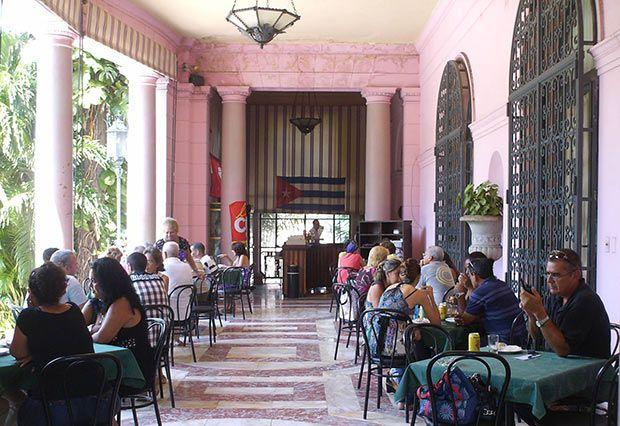 Casa De La Amistad Terraza Havana Cuba Mansion Interior Cuba