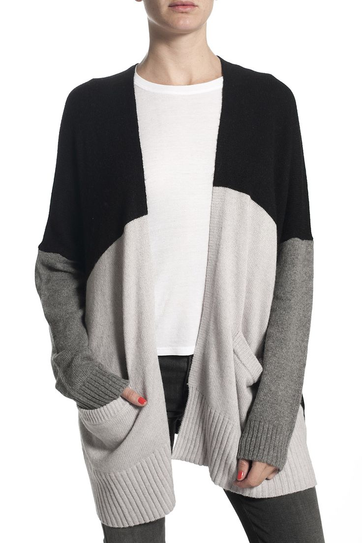 Margaret O'Leary Panda Colorblock Sweater