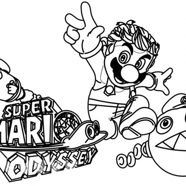 Super Mario Odyssey Coloring Pages Grand Moon Free Printable Coloring Pages In 2021 Super Mario Coloring Pages Mario Coloring Pages Free Printable Coloring Pages