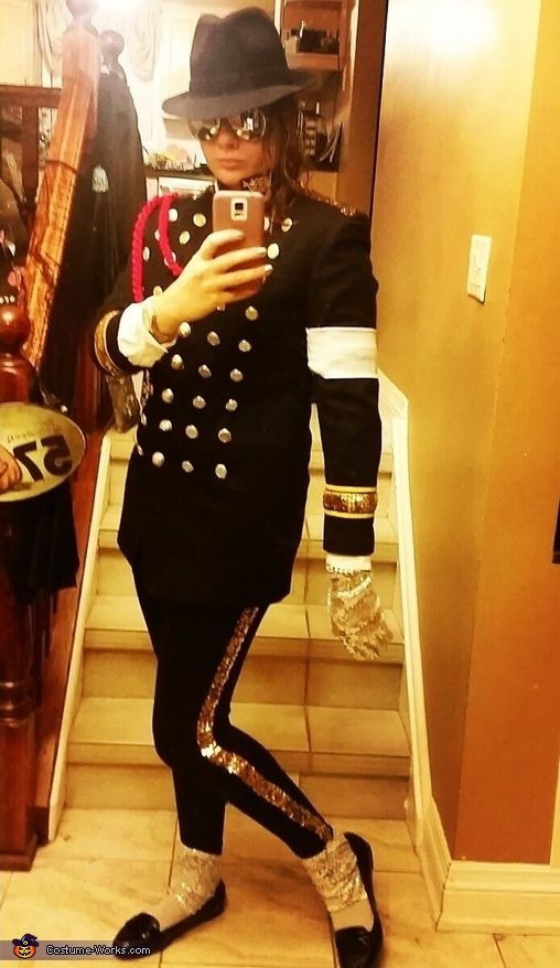Michael Jackson - 2015 Halloween Costume Contest via @costume_works