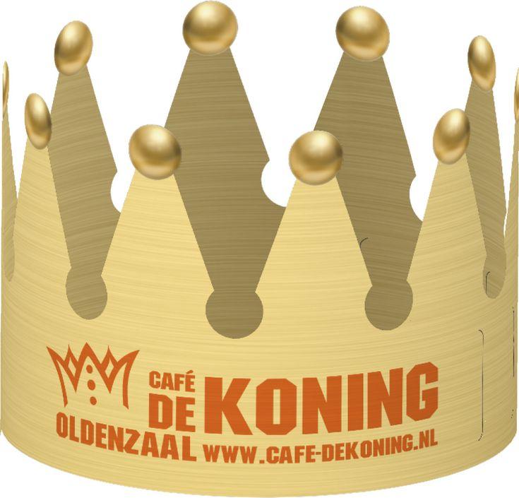 Geef de bedrukte kroon weg aan scholen, zodat de winnaar van de #Koningsspelen bekroond kan worden. #koningsdag #Blog