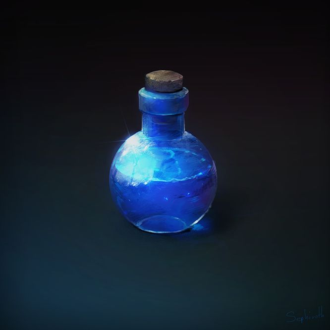 How to Draw for game #3 Potion by Sephiroth-Art on deviantART