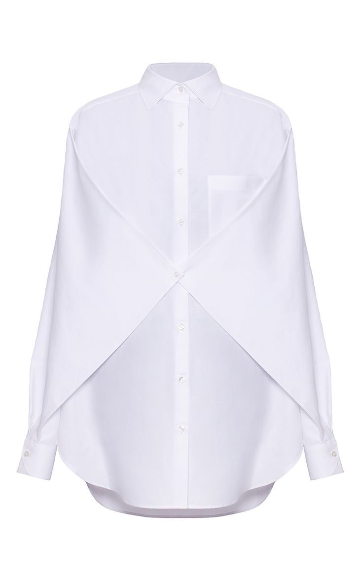 Gathered Long Sleeve Shirt by BEVZA for Preorder on Moda Operandi