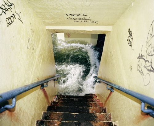 Writing prompt: Decide what is causing the flood. (has something burst? Is it a natural disaster, maybe localized flooding or something else) Next - Where are you and how do you get out?