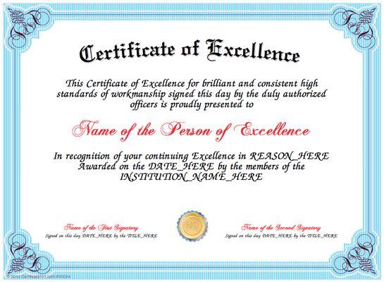 Certificate Creator | CertificateFun.com, Great website ...